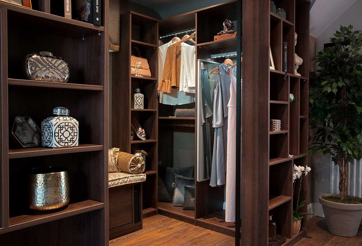 Spectacular storage for unloved alcoves interior