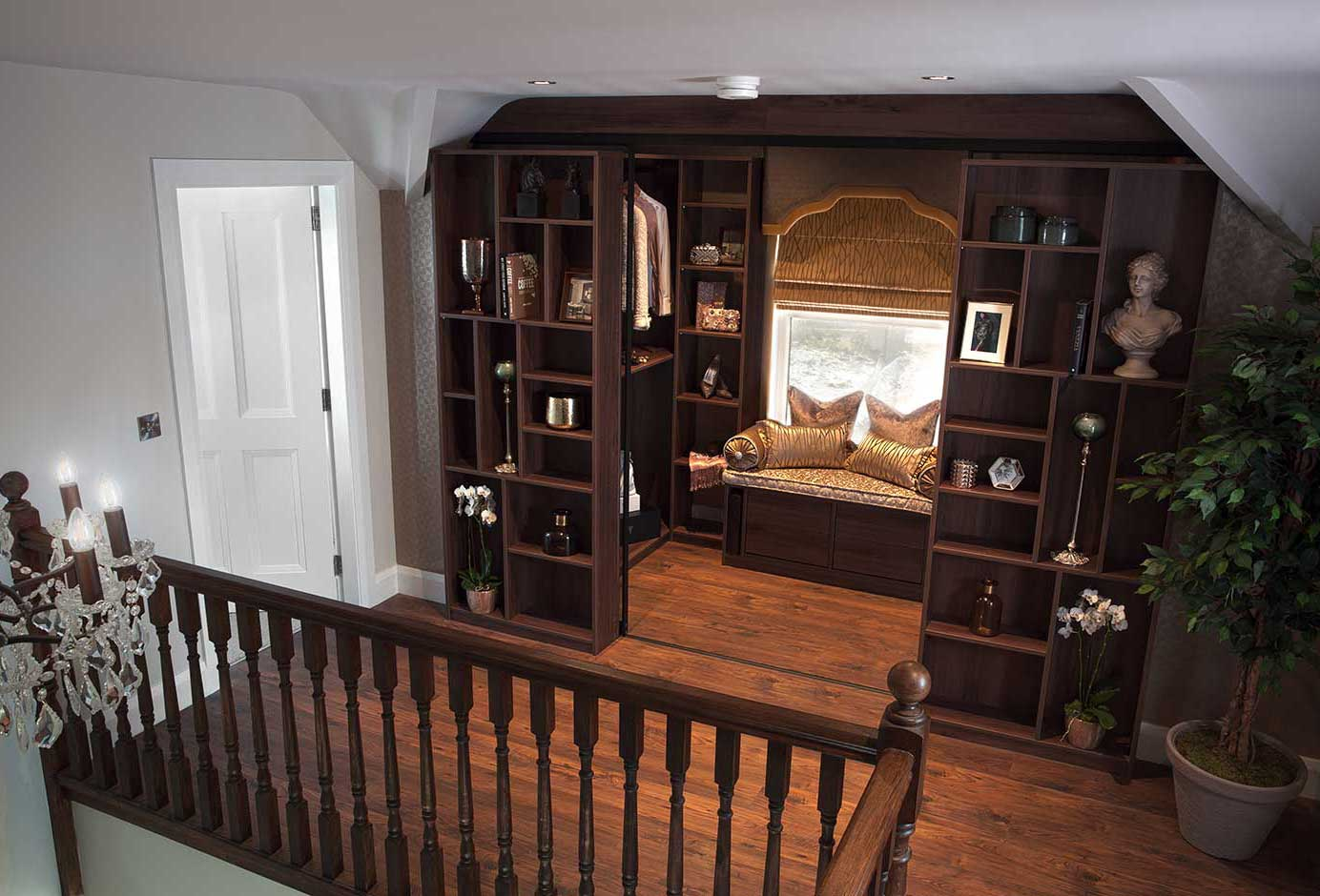 Spectacular storage for unloved alcoves