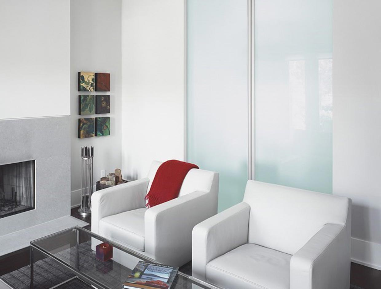 Door Dividers, Frosted Glass Doors