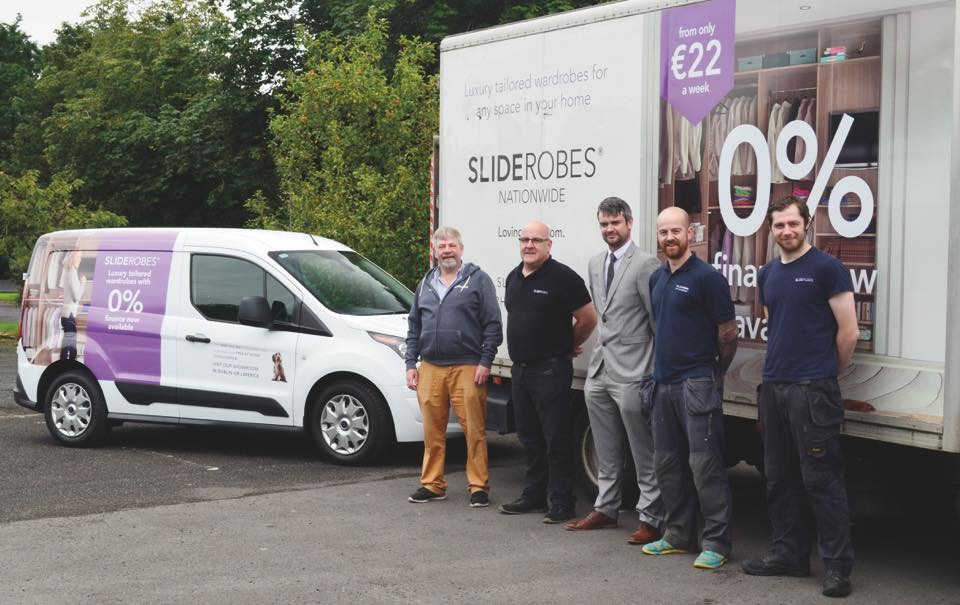 Sliderobes celebrate 20 years in business in Portlaoise