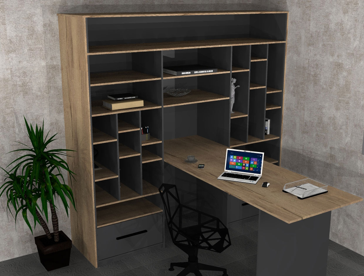 Sliderobes Fitted Home Office