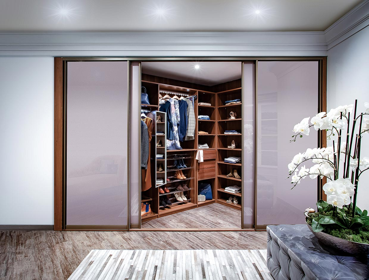 His & Hers Walk-In Wardrobe