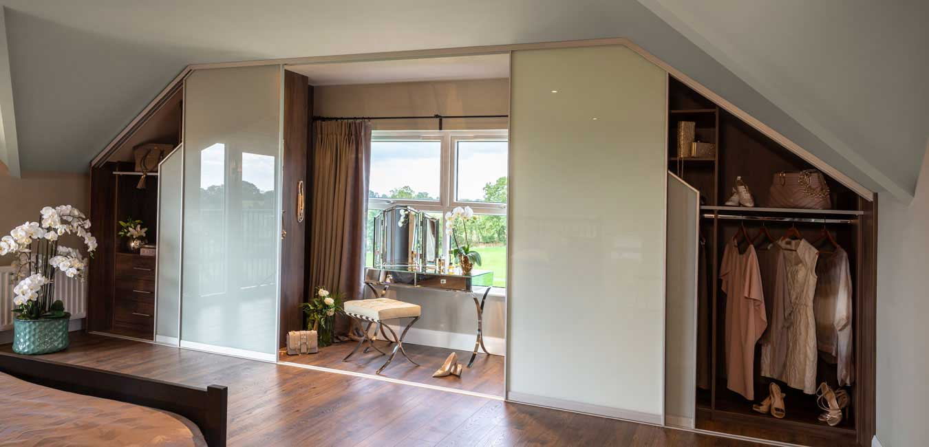 Sliderobes Fitted Wardrobes Sloping Ceilings