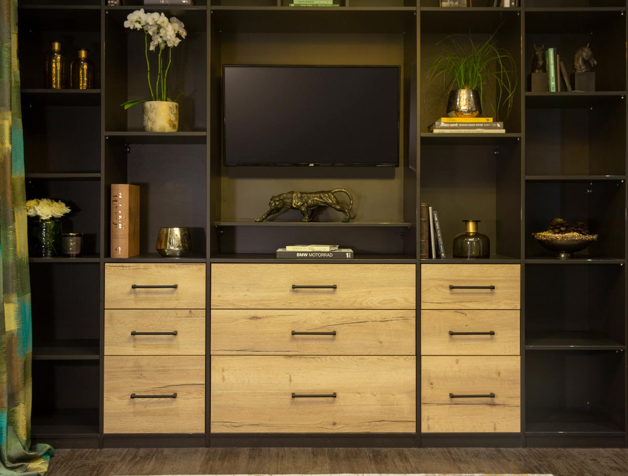 Living Spaces Fitted TV Unit